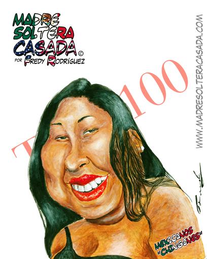 La activista mexicana Dulce Matuz.